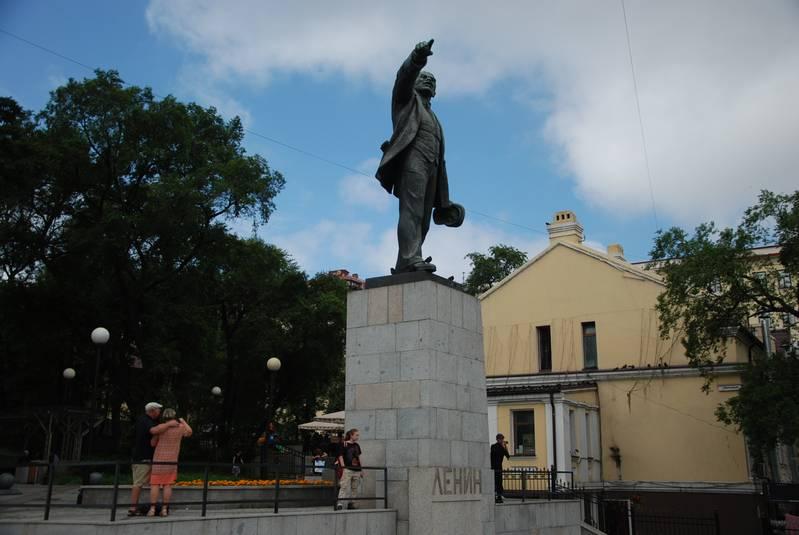 Памятник Ленину во Владивостоке