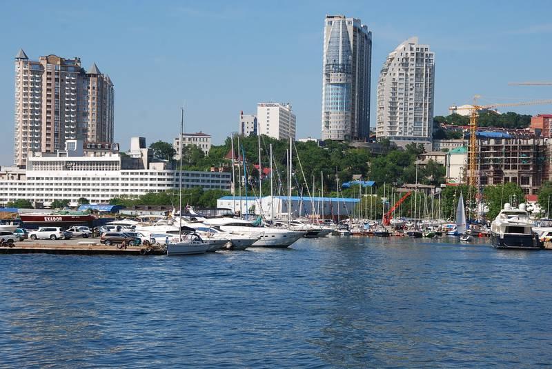 Яхты Владивостока
