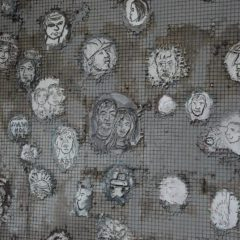 Народное бросание цемента