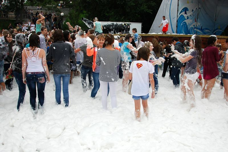 foam party photo