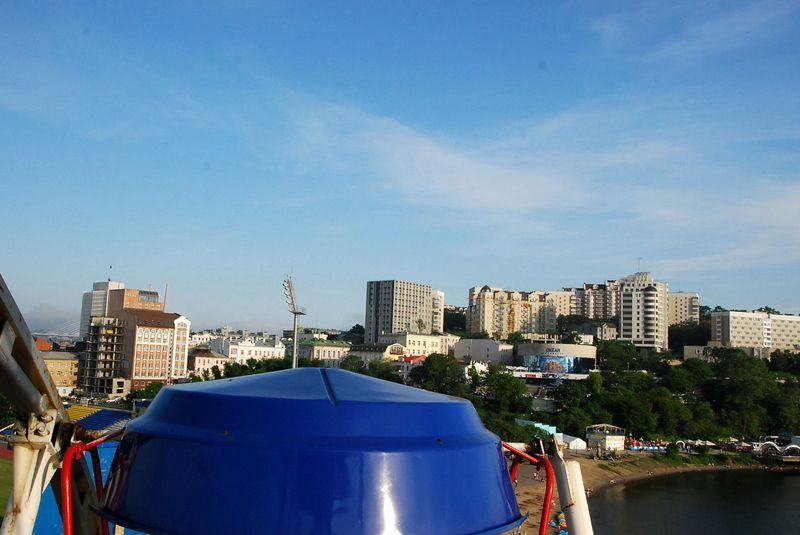 Ferris wheel in Vladivostok
