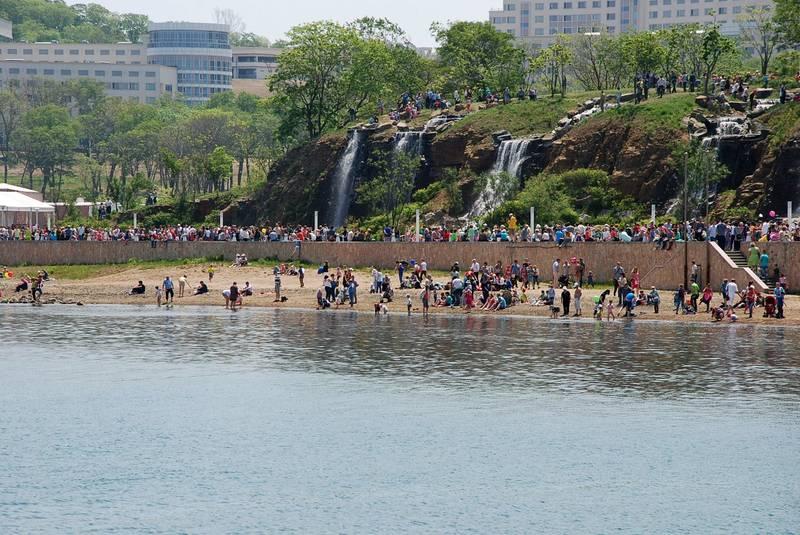 Пляж бухты Аякс