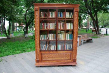 Книжный шкаф появится на набережной Цесаревича