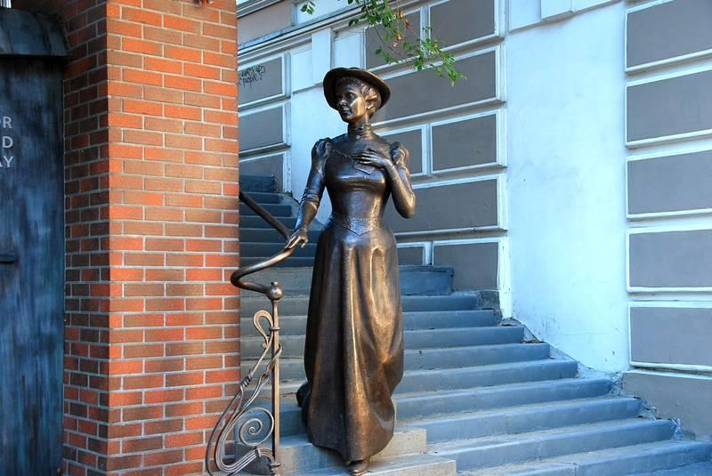 Памятник Элеоноре Прей