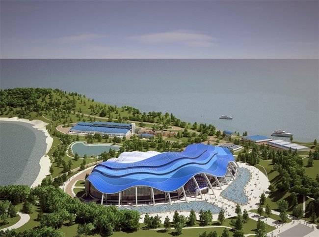 Новый океанариум Владивостока