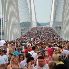На Золотом мосту впервые в истории может пройти кинопоказ
