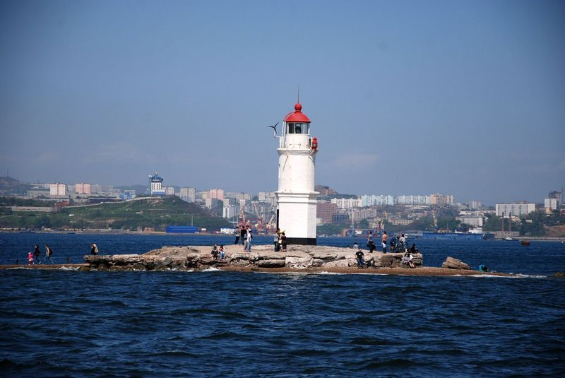 Lighthouse in Vladivostok