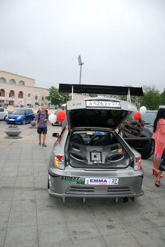 Car Audio Championship in Vladivostok