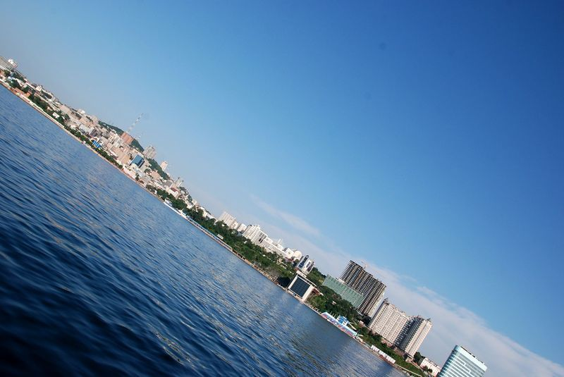 View from sea at Vladivostok