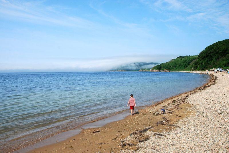 этом путь остров русский пляжи фото перед